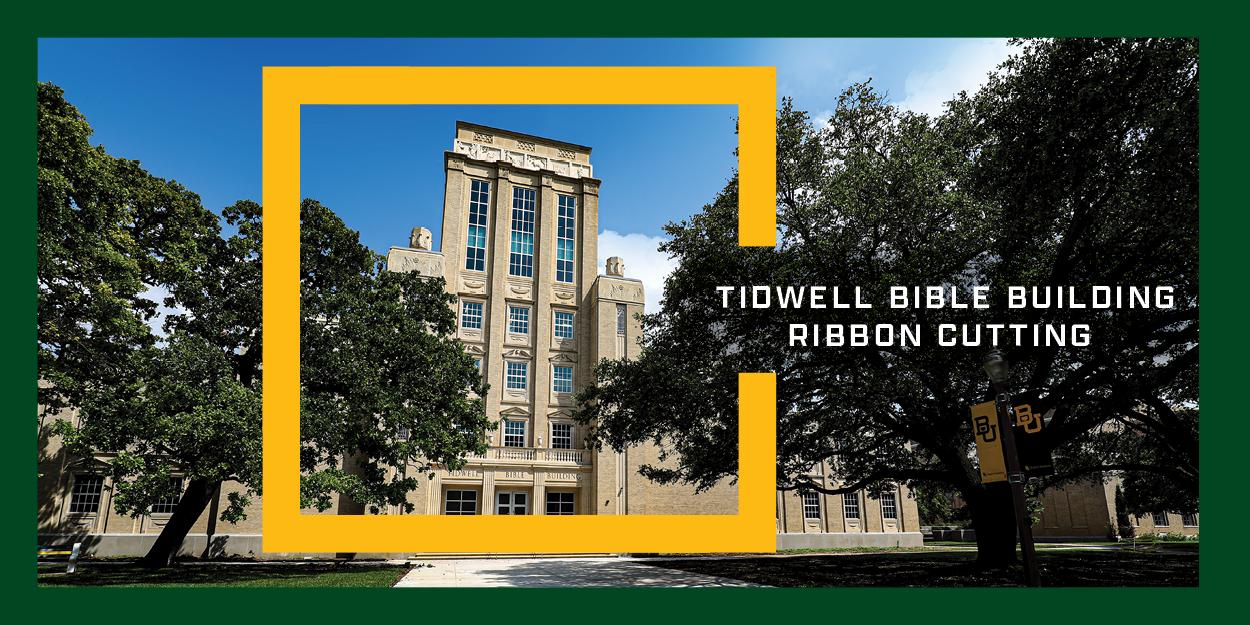 Tidwell Bible Building Dedication