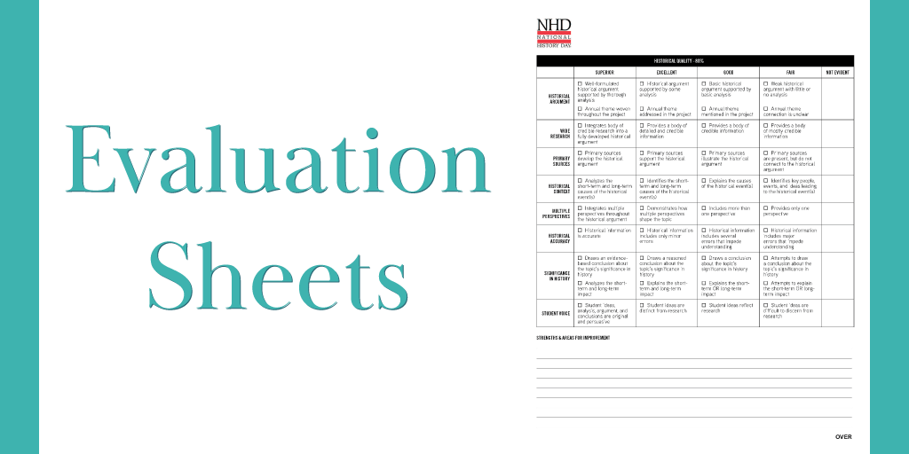Splash Image #3-Evaluation Sheets