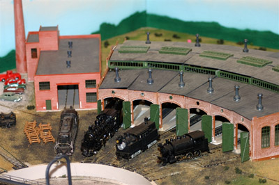 Model Train Station