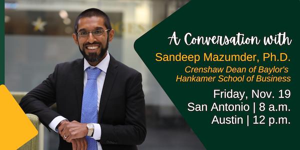 Dr. Sandeep Mazumder, Ph.D. in Austin