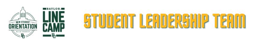 Student Leadership Team Header