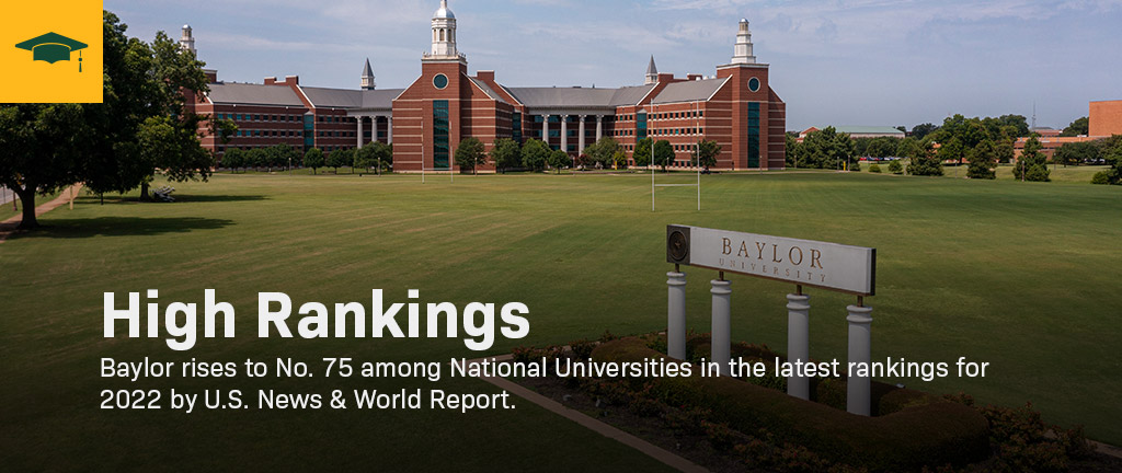 Baylor's campus.
