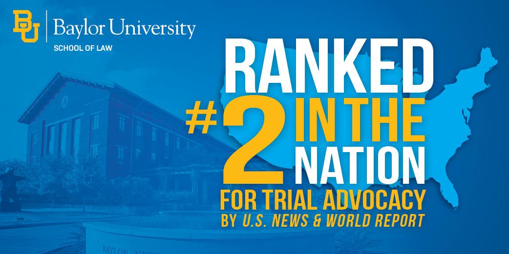 #2 Trial Advocacy - U.S. News