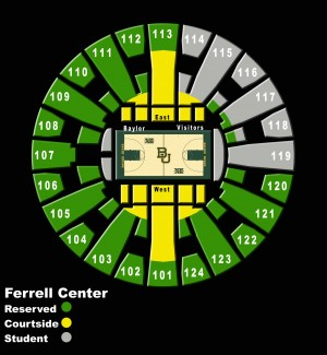 Ferrell Center Seating
