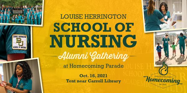 Louise Herrington School of Nursing Alumni Gathering at Homecoming Parade