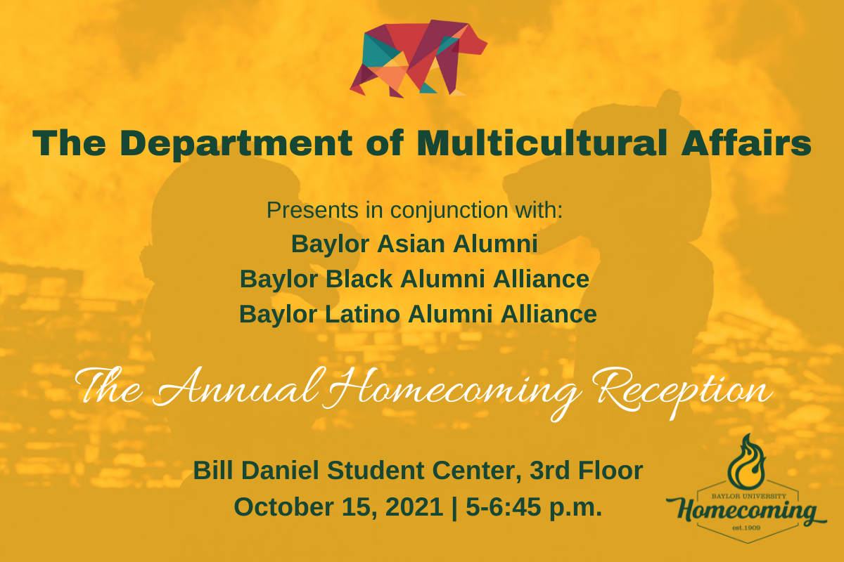 The Department of Multicultural Affairs Annual Homecoming Reception