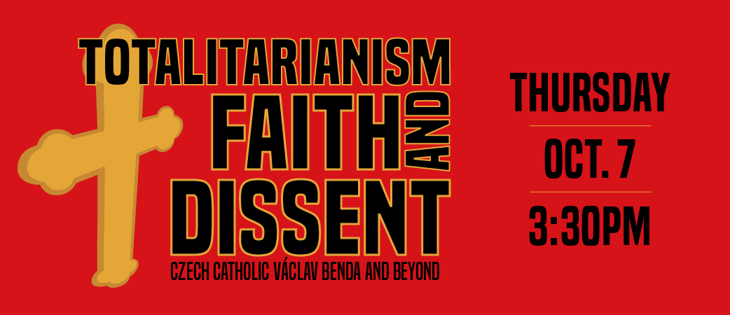 Totalitarianism, Faith, and Dissent graphic