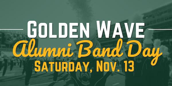 Golden Wave Alumni Band Day