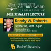 2022 Cherry Award Finalist Dr. Randy W. Roberts (Livestream & In-Person Lecture):