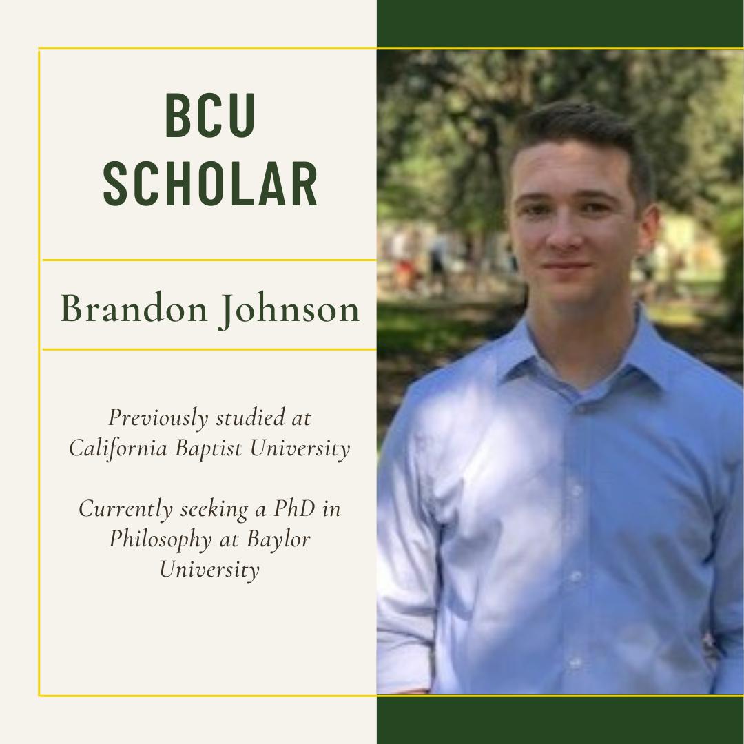Brandon Johnson BCU Scholar