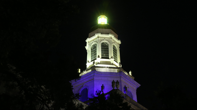 Baylor University to 'Go Purple' in Recognition of Domestic Violence Awareness Month