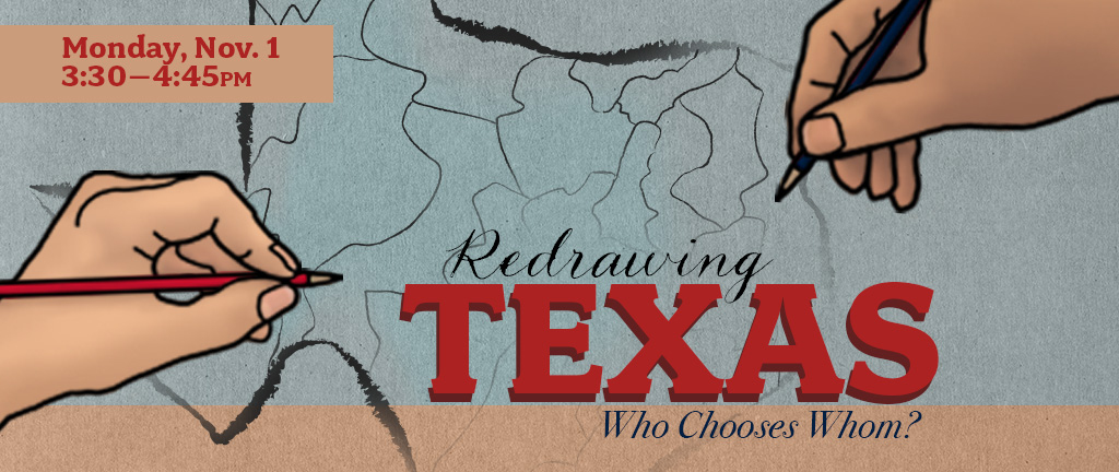Redrawing Texas graphic