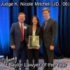 Judge K. Nicole Mitchell Named the 2021 Young Baylor Lawyer of the Year