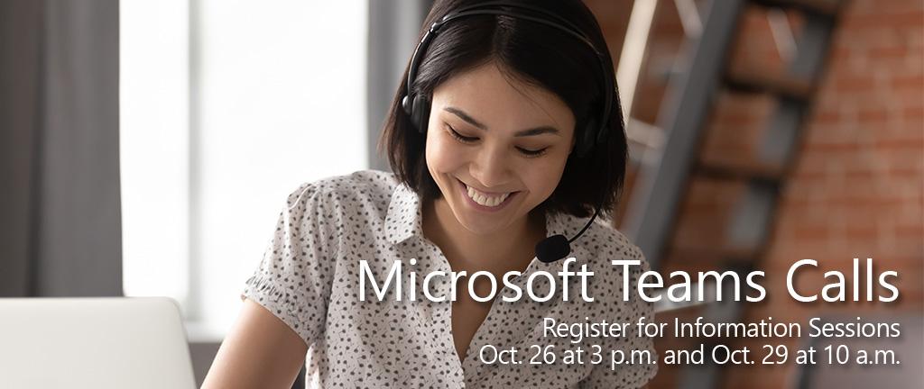 Microsoft Teams Calls graphic