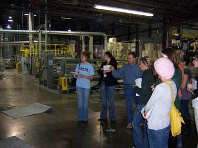 Advanced Textiles visit to Hobbs Bonded Fibers Waco2