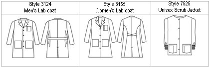 Uniform- Labcoat & Jacket (w x h, 0 KB)
