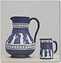 Wedgwood Pitcher & Mug