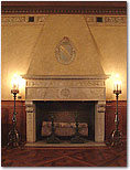Treasure Room-Fireplace