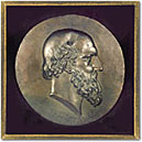 Sculpture-Aeschylus bas-relief