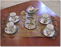 Misc. tea set