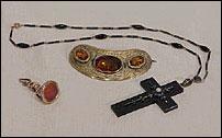 Jewelry-Brooch, Ring, Cross