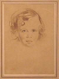 Pen-S. Lawrence chalk sketch
