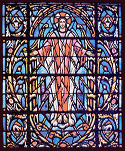 Stained Glass-Saul Upper Section