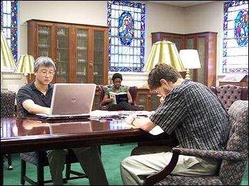 Scholar\'s Room Usage