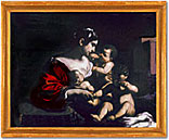 Painting-Charity by Guercino