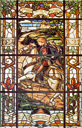 Stained Glass-How They Brought the Good News