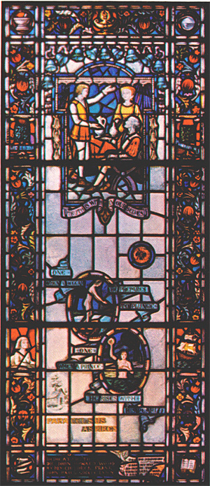 Stained Glass-Paracelsus (Large)