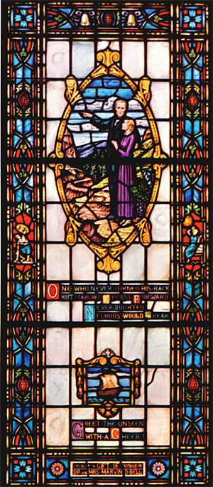 Stained Glass-Epilogue to Aslando (Large)