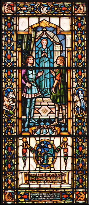 Stained Glass-My Last Duchess (Large)