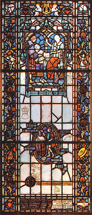 Stained Glass-Paracelsus Attains (Large)