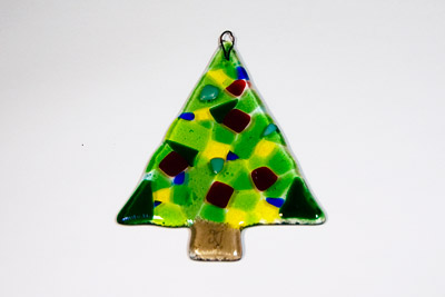 Glass Ornament Christmas Tree