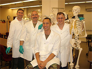 OMPT Anatomy Lab