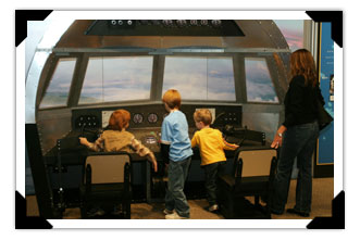 Children in a Cockpit