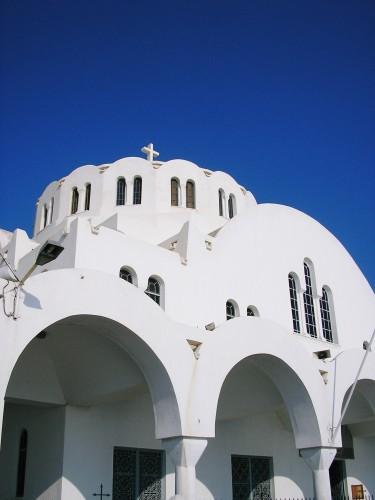 Brett Jennings - Church on Santorini
