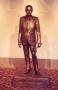 Statue of Bob Bullock in the Bob Bullock Texas State History Museum, Austin, Texas. 1993