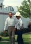 Bullock and unidentified Texas resident during a campaign stop. undated