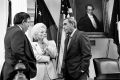 Senator Carl Parker, Gov. Ann Richards, Lt. Gov. Bob Bullock. undated
