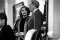 Senator Judith Zaffirini and Lt. Gov. Bob Bullock. undated