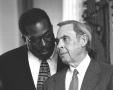 Senator Royce West and Lt. Gov. Bob Bullock