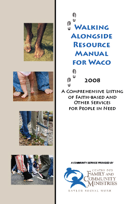 Walking Alongside Resource Manual for Waco