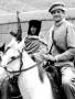 Charlie Wilson on horse