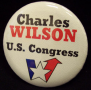 Charlie Wilson Campaign Button