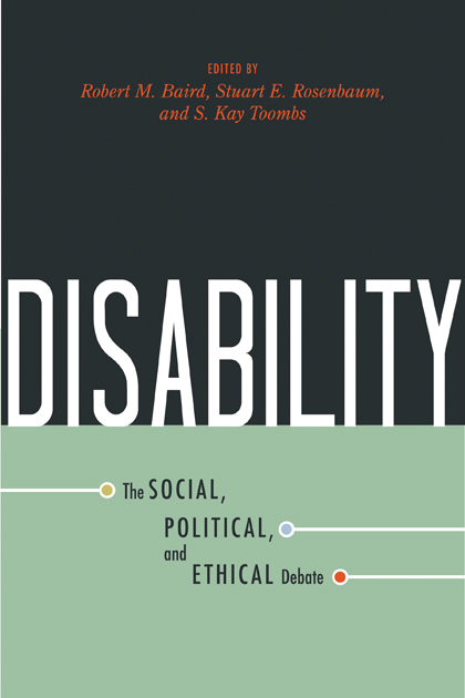 Disability-The Social, Political, and Ethical Debate