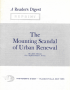 Urban Renewal Scandal article reprint