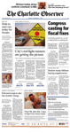The Charlotte Observer - September 11, 2001 - Page 1