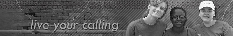 Live Your Calling Header